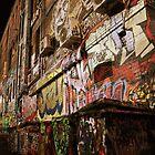 Eerie Alleyway - Melbourne by alexwaldmeyer