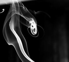 Curled Ribbon of Smoke by Sandra Chung