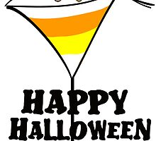 Halloween Candy Corn Martini by lesrubadesigns