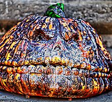 pumpkin head by Ted Petrovits