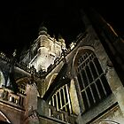 Bath Abbey @Night by Samuel  Dodd