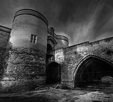 Nottingham Castle v2.0 BW  by Yhun Suarez