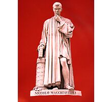Niccolo Machiavelli Photographic Print