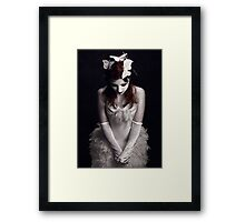 Butterfly Caught Framed Print