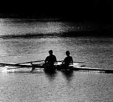 """The Rowers"" by Laurie Minor"