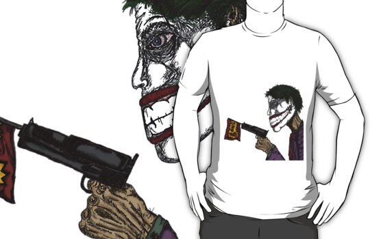 The Joker Goes Bang! by SpiiralArt