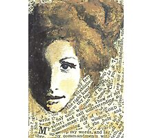 Lady Wisdom Photographic Print