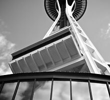 Space Needle by Cliff Worsham