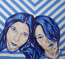 stripey sisters by Jeremy McAnally