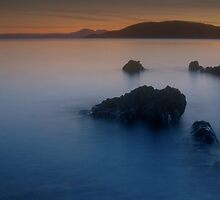 Late Evening, Tralee Bay, Argyll by JOHN MACBRAYNE