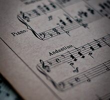 Piano Music Parchment by FletchM