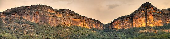 Rock Of Ages (40 Exposure HDR Panoramic)- Capertee Valley, NSW Australia - The HDR Experience by Philip Johnson