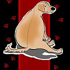 labrador greeting card 2 by Diana-Lee Saville