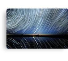 Lake Tyrrell. Reflections. Canvas Print