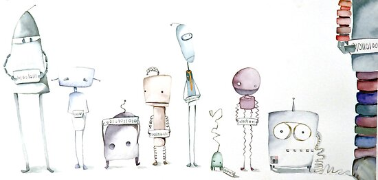 Robot Roll Call by Natalie Fifer
