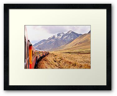 Crossing the Andes - Peru by Nigel Fletcher-Jones