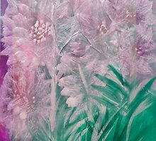 Pearlescent Flowers by Don Wright