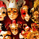 Faces of Carnevale by Mick Burkey