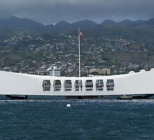USS Arizona Memorial - Pearl Harbour, Honolulu, Hawaii by ohhrah