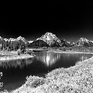 Grand Tetons by Nigel Fletcher-Jones