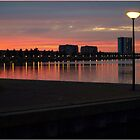 Red Sunset by Janone