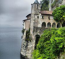 Eremo of Santa Caterina al Sasso - Lake Maggiore by sstarlightss