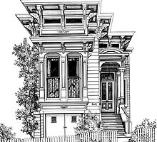 Flat Topped Victorian by Mary Palmer