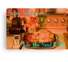 The Head Chef Canvas Print
