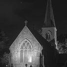 St Johns Church B&W by Jason Scott