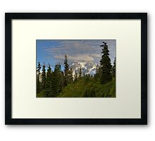 Mt. Shuksan from The Firs Lodge Framed Print