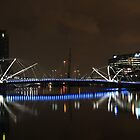 Blue Reflections - Yarra River Melbourne by canonhighlights