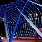 Vivid Blue Arch by Michael John