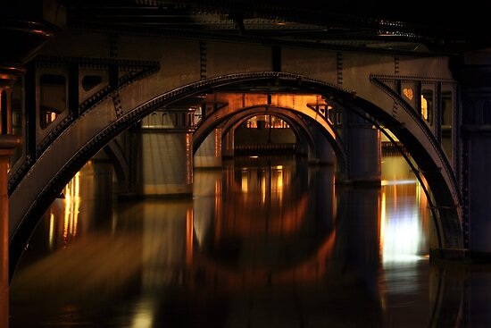 under the bridge by Anthony Hennessy