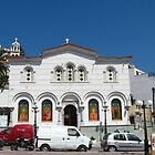 A church in Samos town by Maria1606