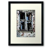 Broken, Kaput, Totally useless Framed Print