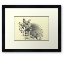 Just let me chill  Framed Print