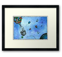 Up And Away (Just Married) Framed Print