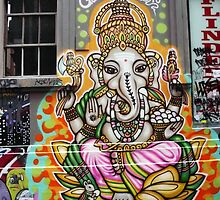 Shree Ganesh by Roz McQuillan