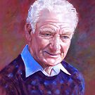 Portrait of Alan Bidstrup by Lynda Robinson