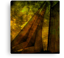 Night Sailing Canvas Print