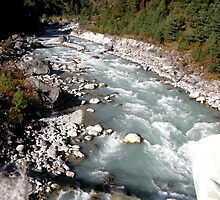 Dudh Kosi ~ Milk River by Patty Boyte