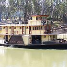 Emmy Lou Paddle Steamer-Echuca by glennmp