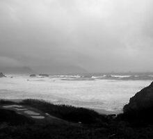 Angry Coast by Arlyta
