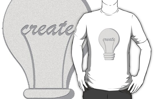 Create Lightbulb by Amy Huxtable