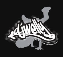 DJ Welly - Breaker Logo Reverse by Paul Welding