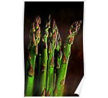 """""""Those Succulent Spears ..."""" Poster"""