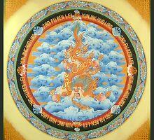 Dragon Kalachakra by tibetan