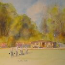 Hythe Bowling club by Beatrice Cloake