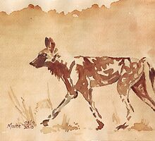 Painted Dog by Maree Clarkson