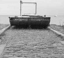 oyster boat by kenkrash